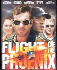 Flight of the Phoenix 2004 PG-13 airplane survival movie, new DVD Dennis Quaid