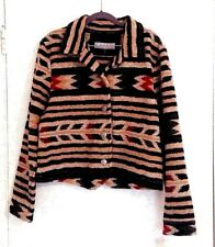 Country Clothing Company XL Jacket Button Front Aztec Design Women's NEW w/ Tags