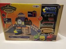 Chuggington Wooden Railway Over and Under Figure 8 Set Works w/ Thomas, Brio
