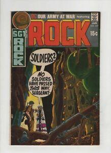 OUR ARMY AT WAR #227 NM-, Sgt Rock, Joe Kubert cover, Russ Heath & Glanzman art