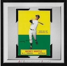 1964 Topps Stand-Up MICKEY MANTLE EXMT *UN-PUNCHED baseball card for set* DD17