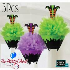 3PCS WITCHES BREW FLUFFY CAULDRON DECORATIONS Halloween Party Decoration 180116