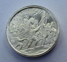 Franklin Mint Sterling Mini-Ingot: 1864 Sherman's March Civil War's Destruction
