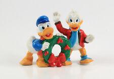 Onkel Dagobert + Donald Duck === Walt Disney X-Mas Figuren Applause