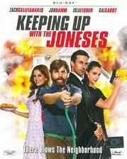 Keeping Up With The Joneses (Blu-Ray) Zach Galifianakis / Region Free *
