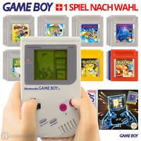 Nintendo GameBoy Classic Konsole #grau - u.a. mit Super Mario, Pokemon o. Tetris