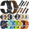 For Garmin Fenix 5S/5S Plus Quick Fit Leather/Silicone/Milanese Strap Watch Band