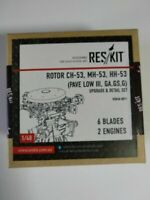 Rotor CH-53, MH-53 (6 blades) (Resin Upgrade set) 1/48 ResKit RSU48-0011