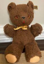 Character Novelty Company Vintage Brown Teddy Bear-Stuffed Animal - Brown Eyes
