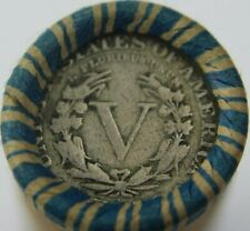 V NICKEL $2 ROLL LIBERTY HEAD ~ VINTAGE ~ ESTATE LOT OLD US COINS ~ UNSEARCHED
