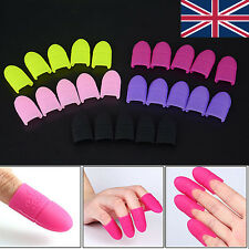 Nail Art Silicone UV Gel Polish Remover Wraps Soak Off Foil Clip UK SELLER FAST