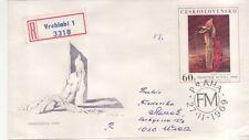 CSSR Tschechoslowakei Nr. 1910  FDC  Frantisek Muzika