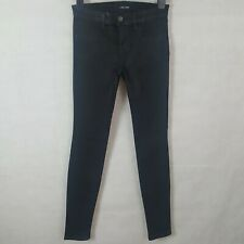 J Brand Womens Jeggings Jeans Black Steal  Size 25 Cotton Stretch Super Skinny