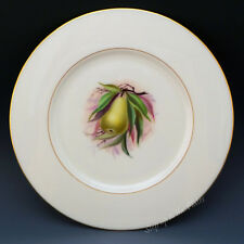 Lenox China Vintage Hand Paint Jan Nosek Fruit Green Pear Cabinet Salad Plate