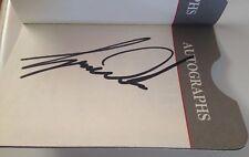 Tiger Woods Autograph With Fluff 1999 PSA DNA COA PGA USGA Masters VERY RARE
