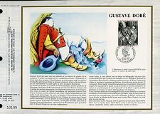 DOCUMENT CEF PREMIER JOUR 1983  TIMBRE N° 2265 GUSTAVE DORE  COMPTE DE PERRAULT