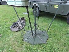 CLANSMAN MIL BROADBAND VHF GROUND MOUNT MONOPOLE ANTENNA AMATEUR RADIO COMPLETE