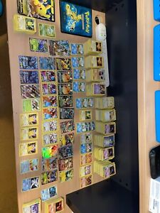 Old/new pokemon card collection Mostly Mint Condition.