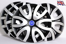 "FIAT PUNTO...SET OF 4 x 14"" ALLOY LOOK CAR WHEEL TRIMS/COVERS 14 inch,model QLB1"