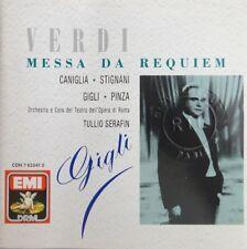 Verdi – Messa Da Requiem (Beniamino Gigli) - EMI - [ CD ALBUM ]