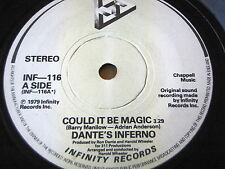 "DANTE'S INFERNO - COULD IT BE MAGIC   7"" VINYL"