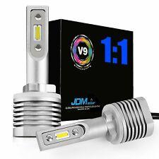 2x 6000K Xenon White 5000LM 880 881 890 LED Bulbs For Fog Lights Driving Lamps