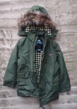 Trespass - Anderson Boys Waterproof Parka Jacket Thymre Size 5/6 RRP£53.99 UK