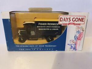 Lledo Vintage Diecast Models Days Gone-Fisher Renwick Manchester-London Steamers