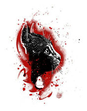 Christian Guemy - C215 - THE CAT (RED) - #50