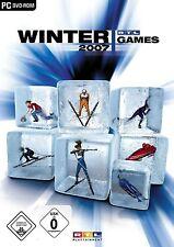 RTL Winter Games 2007 Winterspiele Wintersport Simulator Game für Pc Neu Ovp