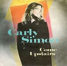 "Carly Simon Come Upstairs + 2 - WEA UK 12"" vinyl single CARLY1T"