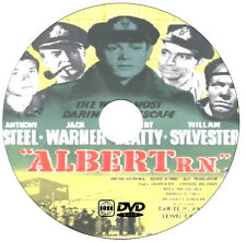 Albert R N - War Drama - Anthony Steel, Jack Warner, Robert Beatty - 1953