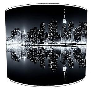 Manhattan Skyline New York Lampshades Ideal To Match Cushions Duvets Wallpaper