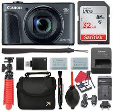 Canon PowerShot SX730 Digital Camera 40x Zoom Lens + 32GB SD + Spare Battery ...
