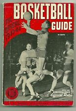 Vintage 1943-44 OFFICIAL College BASKETBALL GUIDE Utah Utes National Champions