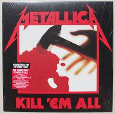 METALLICA KILL 'EM ALL VINILE LP REMASTERED NUOVO SIGILLATO !!