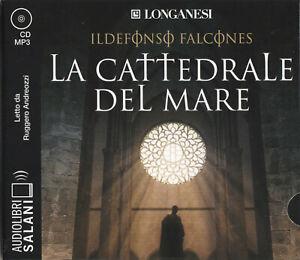 Audiolibro audiobook cd MP3 LA CATTEDRALE DEL MARE - ILDEFONSO FALCONES / USATO