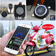 Motorcycle Anti-theft Alarm Security System Keyless Engine Start Remote Control