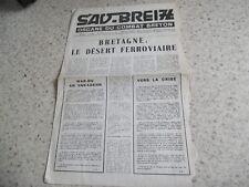 1970.Sav Breiz organe du combat breton N°5.