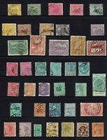 AUSTRALIA PRE-DECIMAL , STATE STAMP COLLECTION MIXED STATES...40 STAMPS
