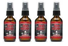 4 x Deer Antler Spray Velvet Horn Extract Natural Increase Strength Stamina