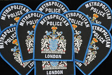 METROPOLITAN POLICE LONDON  ENGLAND.  POLICE CLOTH PATCH  NEW SCOTLAND YARD