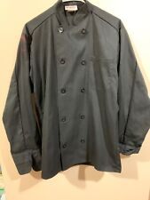 Uncommon Threads Chef Jacket Coat Reaction 0417 color Black size Small