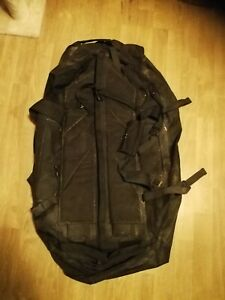 Genuine British Army Deployment Bag Holdall 75L Black grip. Airsoft