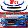 Still Night Blue Front Bumper Spoiler Surround Molding For Honda Accord