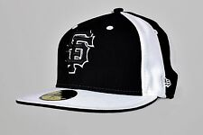 New Era San Francisco 59 Fifty Gorra Negro/Blanco Talla 7+1/2 (59.6 Cm)
