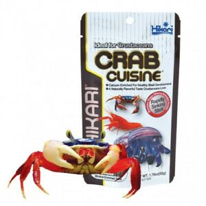 Hikari Crab Cuisine 50g - Sinking Pellet Food Crayfish Yabby Fresh Water Shrimp
