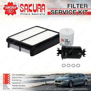 Sakura Oil Air Fuel Filter Service Kit for Toyota Tarago TCR10 TCR11 TCR20 TCR21