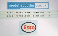 Dinky 943 leyland citerne esso reproduction waterslide transfers set