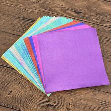 Kesheng 40x Origamipapier Faltpapier Bastelpapier Farbig Einseitig 15 x 15 cm